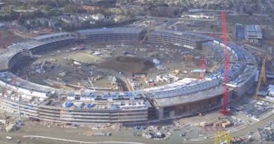 Apple 新總部空拍影片再流出 太陽能之城形相初現
