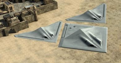 空中合體變形無人機 Transformer 三一萬能俠概念實現