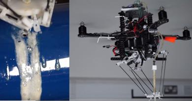 海空兩棲無人機橫掃獎項 BuilDrone 噴膠補油管