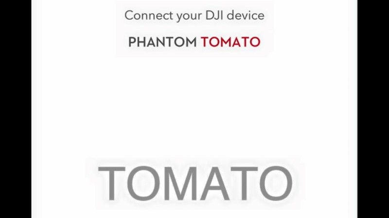 DJI Phantom Tomato