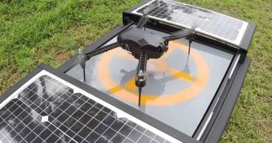 無人機起飛•執勤•充電一箱搞定!Dronebox 讓飛行器自動化運作