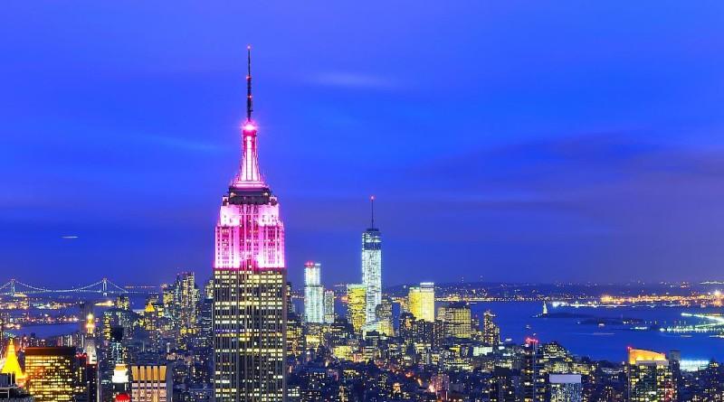 紐約 帝國大廈 無人機