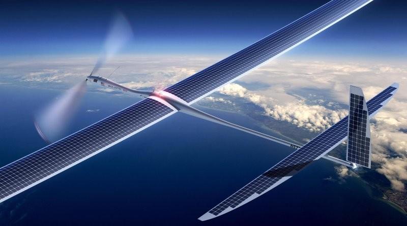 Google SkyBender 以 Titan 無人機廣播 5G