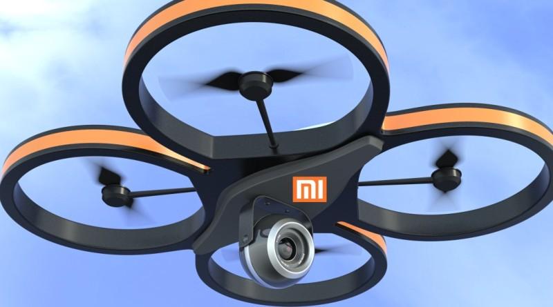 由 DronesPlayer 改圖製成的小米無人機模擬圖