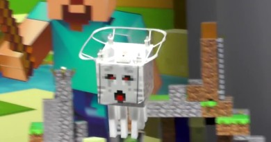 Minecraft RC Ghast 幽靈水母無人機 空中飛盪有如阿飄