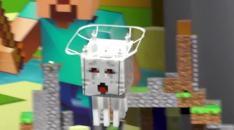Minecraft RC Ghast 幽靈水母無人機