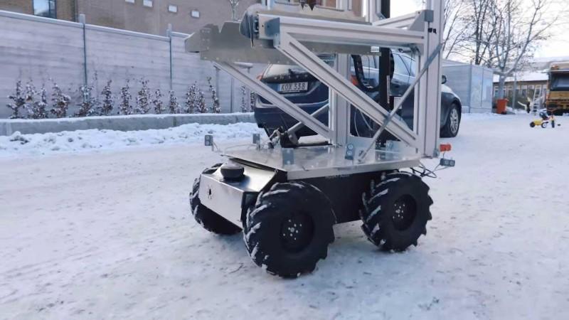 無人智慧車上裝設光達 LiDAR、GPS、視像鏡頭和感應器,可實現自動避障功能。
