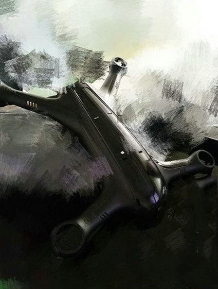 近日網上熱傳的疑似小米無人機圖片。(圖片來源:UavsNews.com)