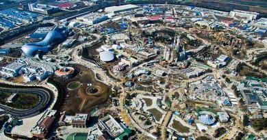 開幕前搶先看!上海迪士尼空拍圖 讓你一睹樂園設施
