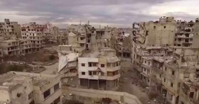 敍利亞繁華城市淪廢墟 空拍機記錄戰爭禍害