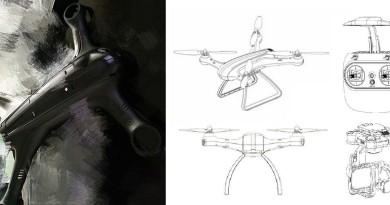 小米無人機諜照現身 四神合體設計更勝「要你命3000」!