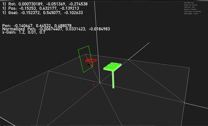 Flying Pantograph 經精密的演算法操控。