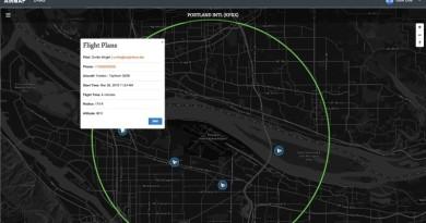 無人機即時通報系統 讓機場掌握飛行器精確位置