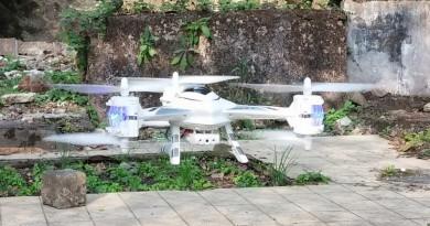 蠍子形 3 軸空拍機 Cheerson CX-33W 定高力測試
