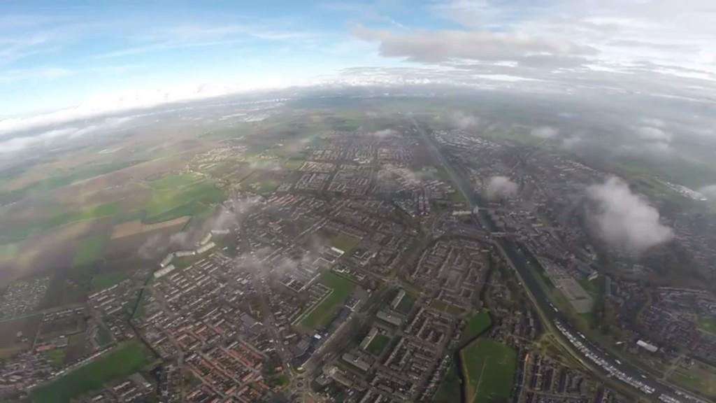 DJI Phantom 2 2km aerial view