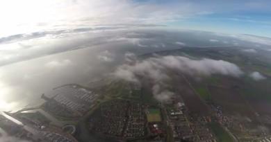 有片有真相!Phantom 2 違法飛上 3,400 米,只為拍高空美景 ?!