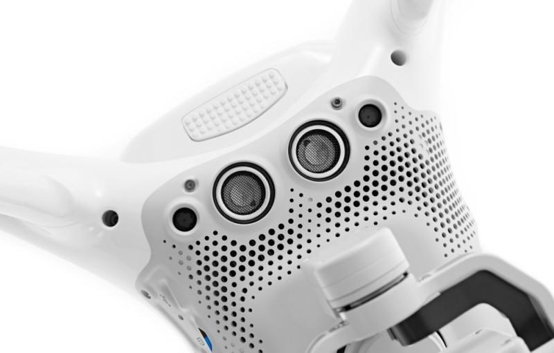 DJI Phantom 4 視覺定位系統