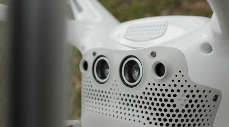DJI Phantom 4 超聲波雙目視覺系統