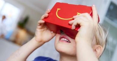 立體麥香雞更香脆嗎?麥當勞也推 VR 眼鏡!