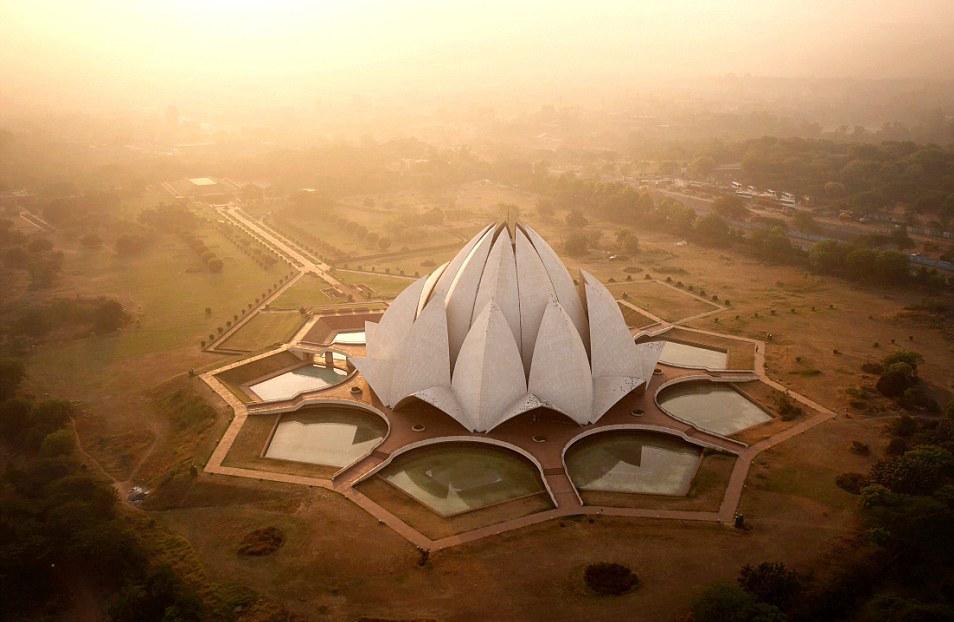 新德里的蓮花寺