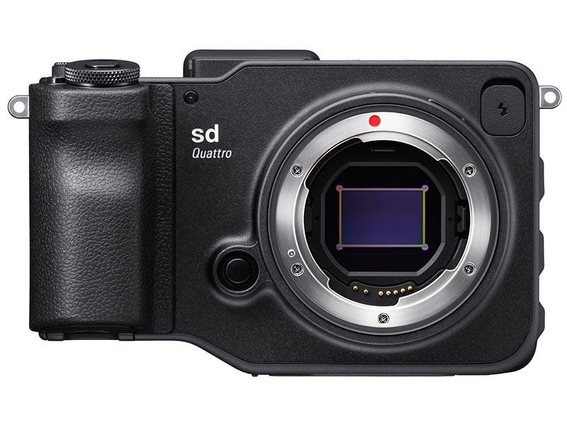 Sigma sd Quattro 為 APS-C 片幅的無反相機,有效拍攝像素是 1,960 萬。