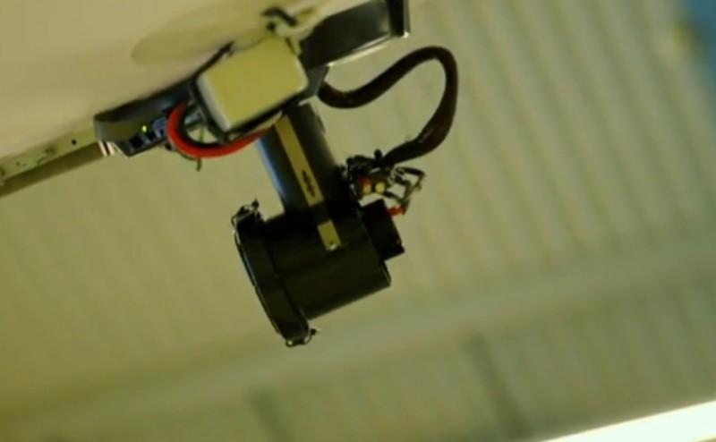 氣球無人機上有 3 組攝影鏡頭。