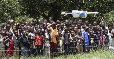 非洲小朋友抗愛滋救星!UNICEF 無人機運送血液助測試