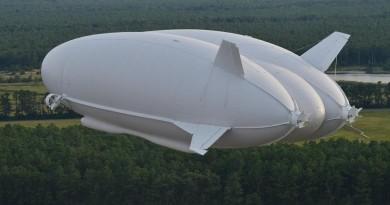 飛天屁股四月試飛 全球最大飛行器 Airlander 10 長過 A380!