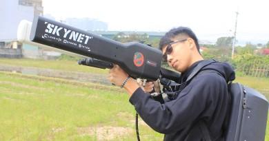 【獨家報道】反無人機最強武器!Skynet 電磁砲技術大揭秘