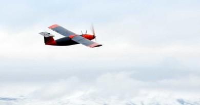 首架固體氫電池無人機英國試飛 續航力是鋰電池 3 倍!