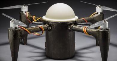 潛伏水中的間諜神器!海空兩棲無人機 CRACUNS 登場