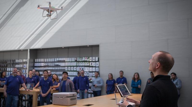 Apple 獨家發售 DJI Phantom 4