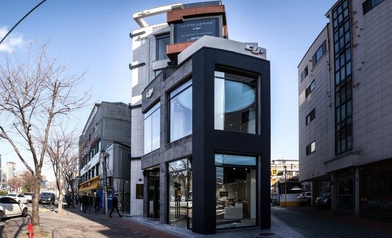 DJI 首爾旗艦店外觀
