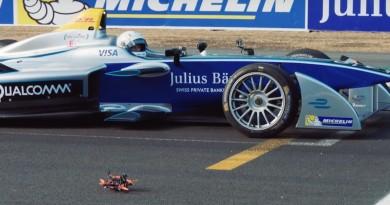 Formula E 賽車大戰 FPV 競速無人機,發展你猜不到!