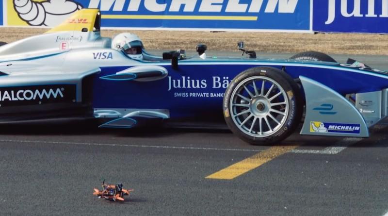 Formula E 賽車大戰 FPV 競速無人機