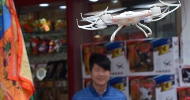 中國兩會期間北京禁飛無人機 幸好航拍機尚未禁售