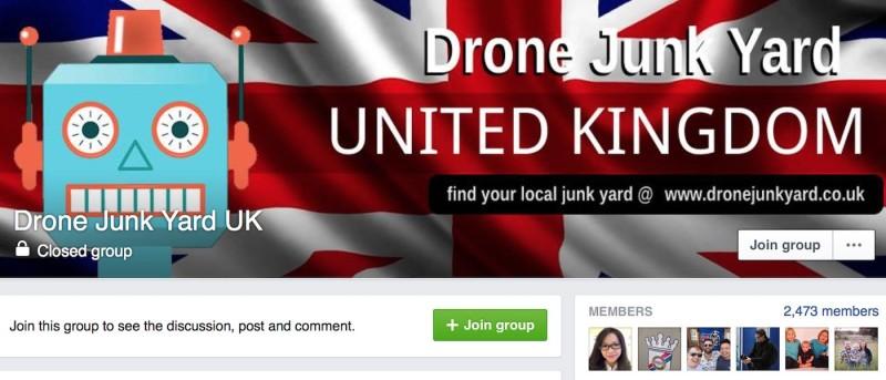 Drone Junk Yard 開設後大受無人機玩家歡迎。