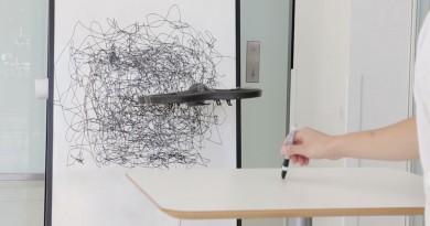 Flying Pantograph 畫筆飛行器 讓人類與無人機合繪抽象畫