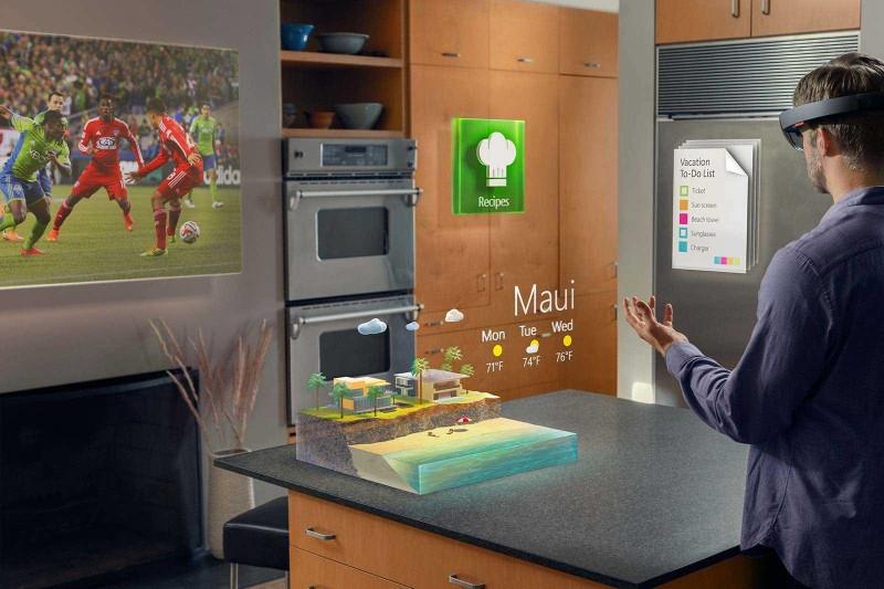 HoloLens 令家居變得智能化,空間運用亦更靈活。