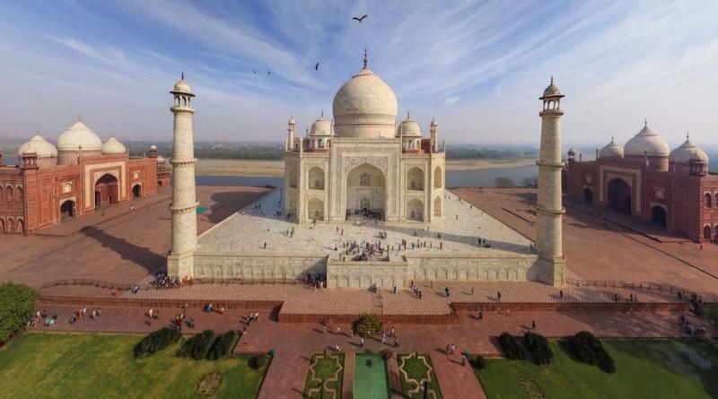 印度 泰姬陵 空拍機