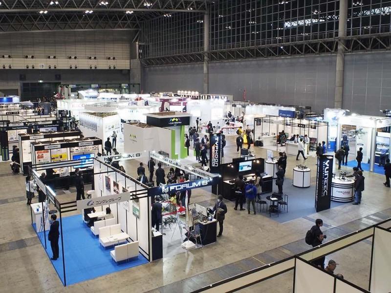 今屆日本無人機科技展 Japan Drone 2016 有逾 120 個參展單位。