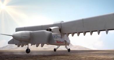 旋轉機翼垂直升降!LightningStrike 無人機時速 740 公里飛翔