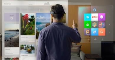 微軟 AR 眼鏡 HoloLens 月底付運 內置 Win 10 可獨立運作