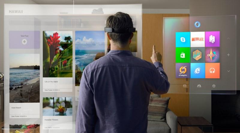 Microsoft HoloLens 開發版供貨