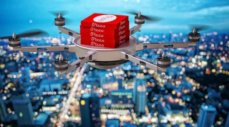 Foodpanda 無人機 送餐