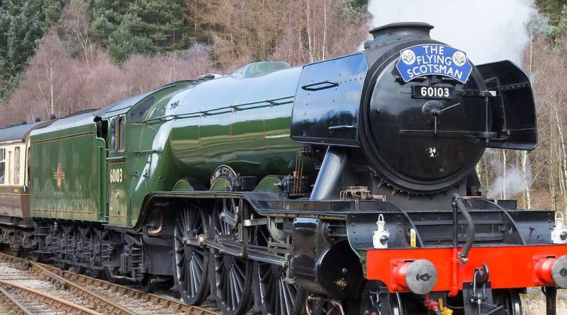 The Flying Scotsman 英國 火車