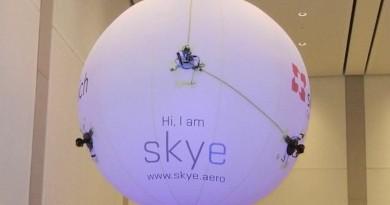 【CeBIT 2016】演唱會空拍神器 氣球無人機 Skye 亮相