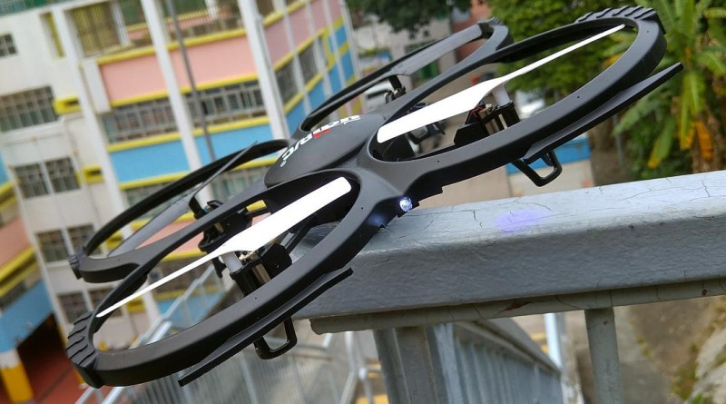 UDI RC U818A 空拍機飛航測試