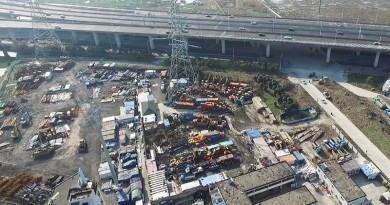上海迪士尼落成在即 政府急遣無人機緝拿園外違章建築