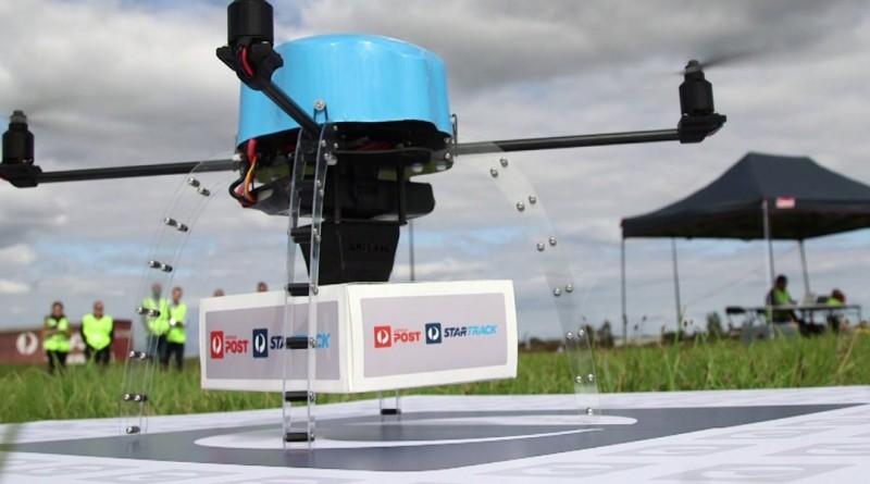 澳洲郵政無人機送貨測試